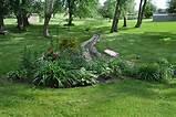 backyard flower bed gardening outdoor living ideas pinterest