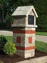 Brick Mailboxes Designs | Brick Phone Picture