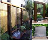 diy stunning outdoor water wall in your garden do it yourself ideas