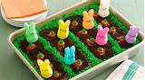 peeps easter garden cake recipe from betty crocker