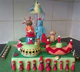 In the night garden cake | Cake designs | Pinterest
