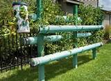 vertical gardening using PVC pipes | DREAM GARDEN | Pinterest