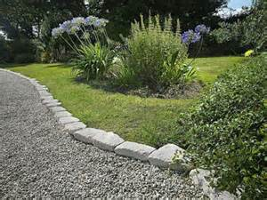 ideas stone garden edging ideas how to build a wooden boardwalk garden