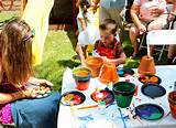 Kids Garden Party Ideas - Popsicle Blog
