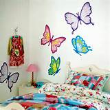 beautiful butterfly theme girl bedroom design