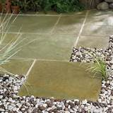 diy garden design ideas gravel stones stone tiles garden path