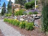 rock wall landscaping ideas