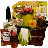 ... Gift Baskets The Gourmet Gardener Gift Basket of Useful Garden Tools