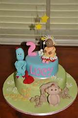 In the night garden cake | Cake ideas | Pinterest