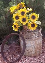 garden gardens ideas wagon wheels gardens decor rustic country