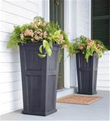 planter traditional outdoor pots and planters by plow hearth