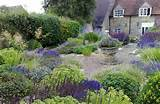 ... garden was transformed into a scented herb garden: shimmering with