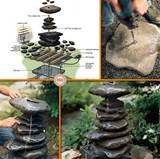 diy garden fountain the owner builder network