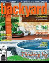 Back Yard Design Magazine
