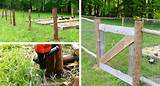 10 DIY Garden Fence Ideas - Rustic Garden Fence - Click for Full ...