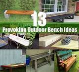 13 Thought-Provoking Outdoor Bench Ideas | DIY Cozy Home World - Home ...