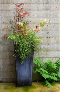 fresh ideas for fall planters the gardenist apartment therapy