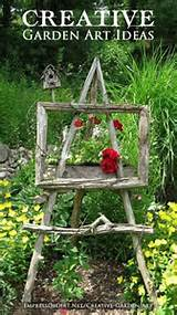 Art for the yard | Back yard ideas | Pinterest
