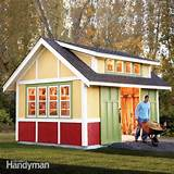 how to build a shed 2011 garden shed the family handyman
