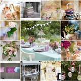 unique outdoor wedding ideas garden party wedding theme ideas