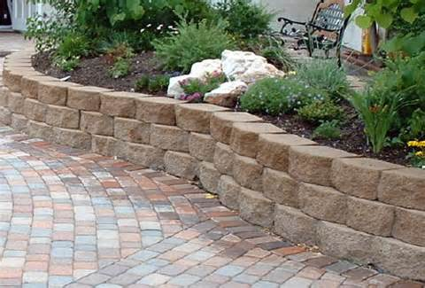 Garden Wall Ideas am1azing water feature curved garden wall Wallshow To Build Retaining Walls On A Slopebrick