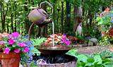 diy teapot fountain garden outdoors ideas pinterest
