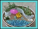 Her er ett eksempel på hvordan en miniatyr hage kan lages:-))Her er ...