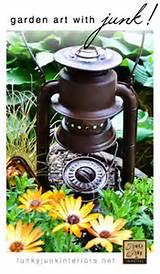 Creating garden art with JUNK - Funky Junk InteriorsFunky Junk ...