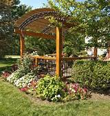 cottage style garden pergola by archadeck