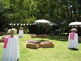 garden outdoor wedding decoration ideas