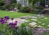 Diseño en Jardines de Casas de Campo: Decoración de Jardines de ...