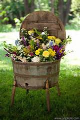 rustic garden idea | In A Country Garden | Pinterest