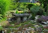 stone bench garden benches pinterest