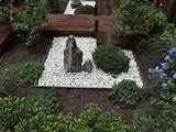 49. Beautiful Garden Decor with Rocks and Small Stone Basin