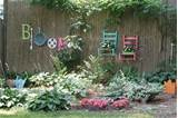Garden Junk Ideas | Junk Garden in Bloom | Garden | Pinterest