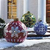 Beautiful Outdoor Christmas Decorations Ideas
