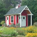DIY plans and instructions for building this 10-ft. x 12-ft. shed ...