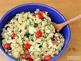 ... party Summer Garden Pasta Salad ~ Madigan Made { simple DIY ideas