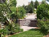 paver patio under deck with retaining wall steps minne flickr