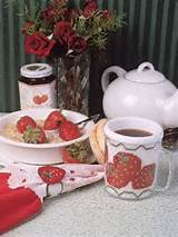 Plastic Canvas - Kitchen Accessories - Garden Berries