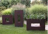 Modern garden planters ideas | HOME DESIGNS IDEAS