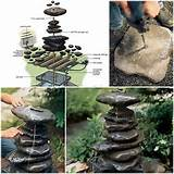 DIY Stacked Rock Fountain Guide | DIY Cozy Home