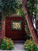 outdoor wall art ideas small front yard landscaping ideas front yard