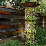Bauidee: Gartenturm für Küchenkräuter
