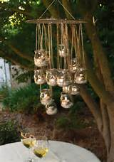 here s a simple diy garden chandelier tutorial from ecologue it