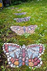 Butterfly stepping stones: Ideas, Butterflies, Outdoor, Gardens ...