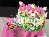flower garden white fence farm birthday cake for a little girl won 2
