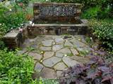 The enchanting Pebble Mosaic For The Garden Bathroom Design. picture ...