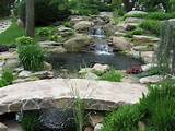 Decorative Waterfalls Design for Landscaping Ideas: Backyard Ponds And ...