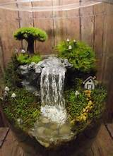 via 11 add a miniature waterfall pond or river to your fairy garden